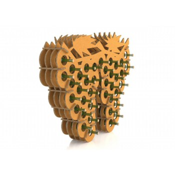 PORTE-BOUTEILLE PPOCHI CHINE CARTON WALL CLUSTER