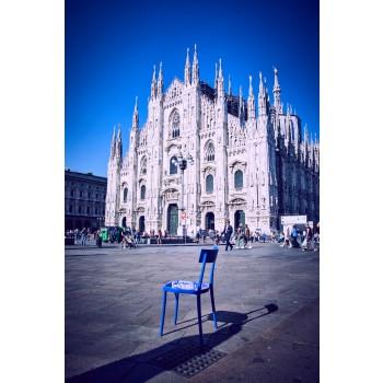 Chaise Milano 2015 Transparent Polycarbonate Colico